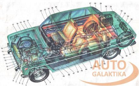 автомобилей ВАЗ-2103,21033