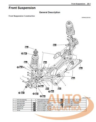 Suzuki SX4 service manual