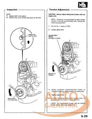 Honda Prelude 3 Service