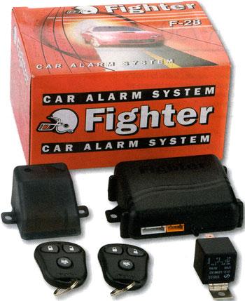 FIGHTER-28 - новая автомобильная охранная система, имеющая стандартный набор сервисных и охранных функций плюс...