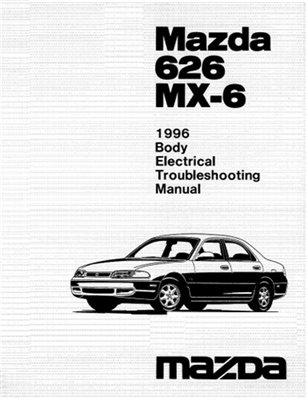 Mazda 626, MX-6 диагностика и