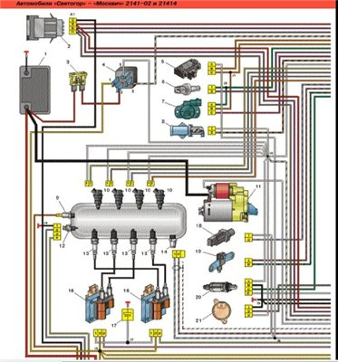 электросхема хендай солярис